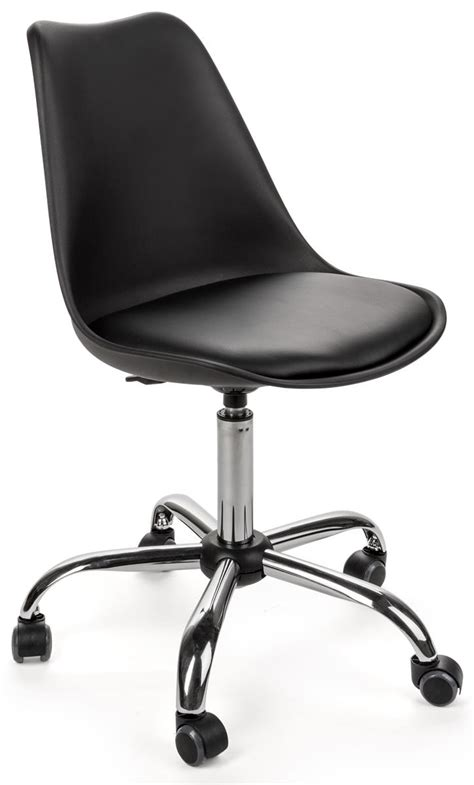 Office Rolling Chairs Design Ideas Molded Wheeled Office Chair Padded For Comfort