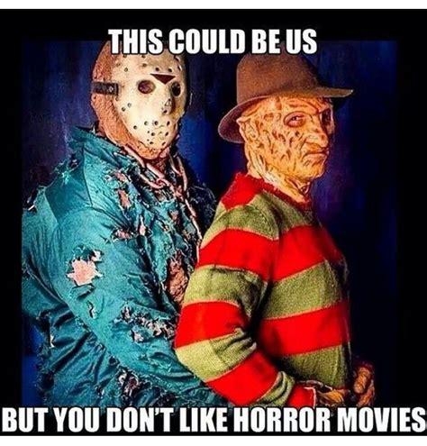Funny Horror Movie Memes - 20 creepy horror movie memes sayingimages com