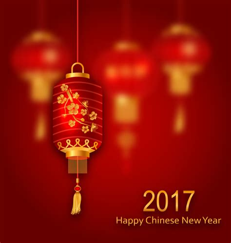new year lantern vector lantern with new year background vector 02