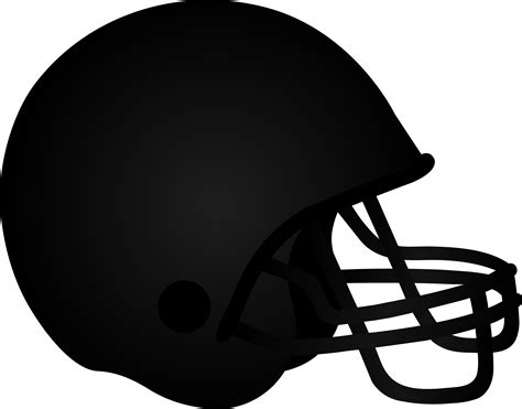 Football Helmet Outline Profile by Football Helmet Clip Free Cliparts Co