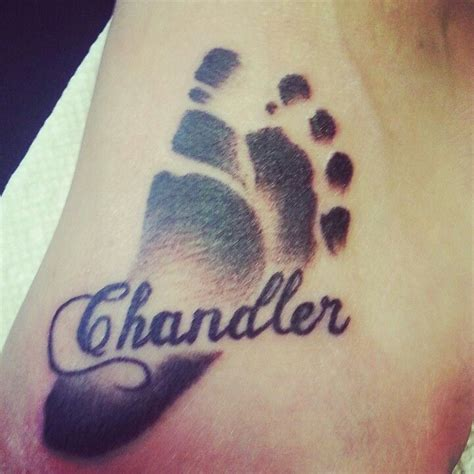 tattoo footprints designs 25 best ideas about baby footprint on