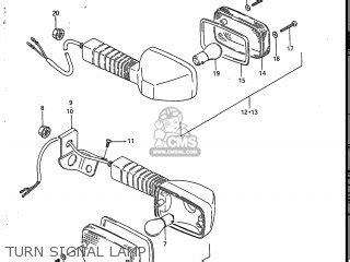 Suzuki Sp200 Parts Suzuki Sp200 1986 G Usa E03 Parts List Partsmanual