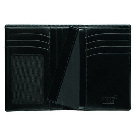 Ck Date Set Silver Plat Black montblanc portfolio wallet 7cc 35798