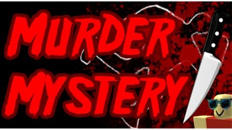 roblox thumbnail murder roblox murder mystery wiki
