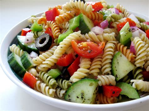 salad pasta greek pasta salad recipes dishmaps