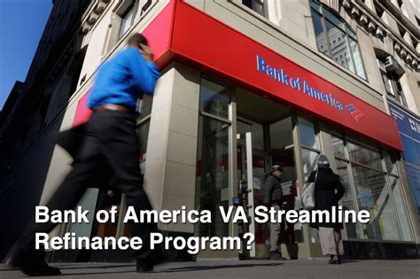 bank of america va streamline refinance