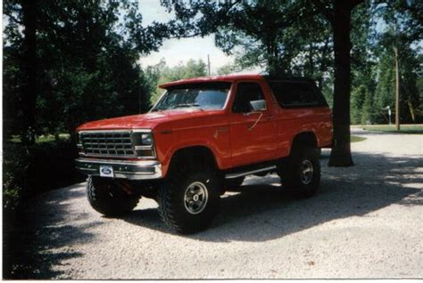 ford bronco 1980 big red 420 1980 ford bronco specs photos modification