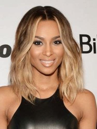 middle part shoulder length hairstyles for black women 11 staff picks for ciara blonde hair ideas ombre blonde