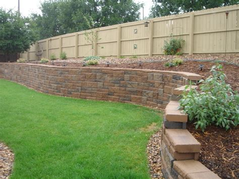 miscellaneous retaining wall cost on a budget retaining wall versalock versa lok plus