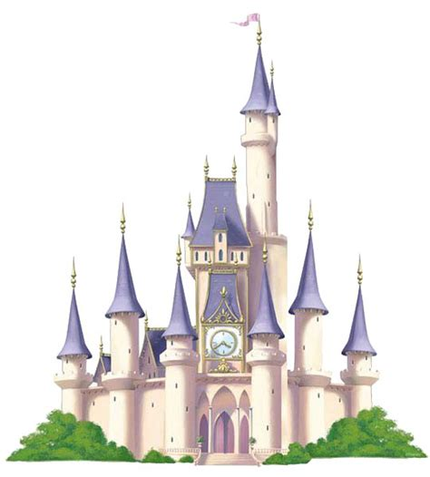 Princess Castle Wall Mural disney clip art and princesas da disney on pinterest