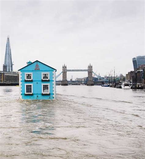 thames floating house airbnb s floating house does london by thames webecoist