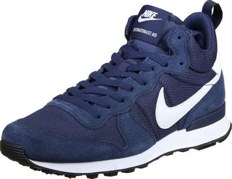 nike internationalist sneaker nike internationalist mid shoes blue white