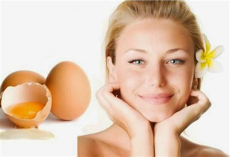 membuat masker kuning telur  wajah  rambut