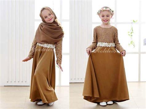 Gamis Anak Pineapple tren baju muslim anak untuk bulan ramadhan dan lebaran
