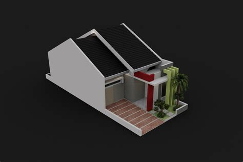 3d small house design small house design 3d model max cgtrader com