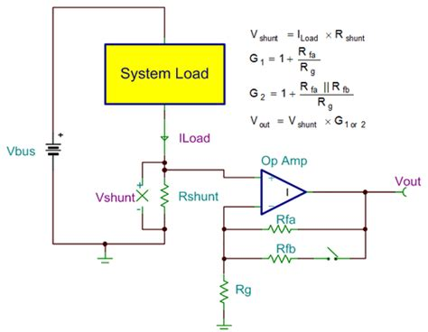 low side current sense resistor planet analog precision hub caution wide load