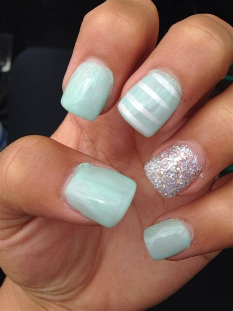 Gel Acrylic Nails by 17 Best Images About Ideas On Mint Green