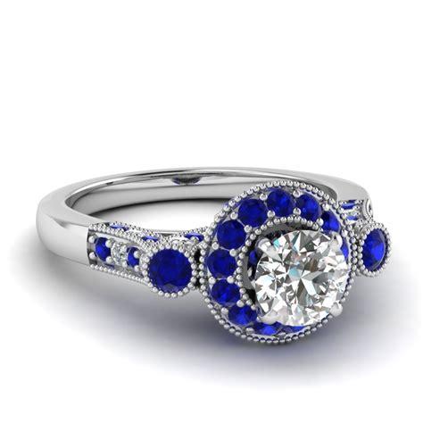 white gold white engagement wedding ring