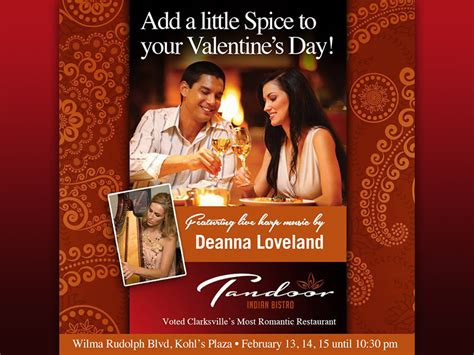 valentines day india clarksville s tandoor indian restaurant creates that special moment this valentine s day