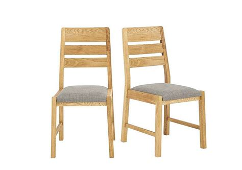Dining Chairs Deals Portland Pair Of Slatted Back Dining Chairs For 163 399 Home Garden Furniture Deals