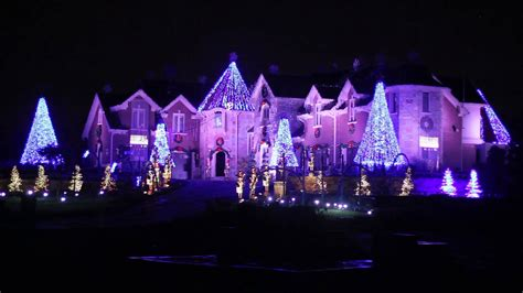larsens light show elburn il amazing christmas light display