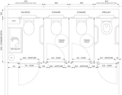toilet cubicle layout standard toilet cubicle sizes cubicle systems