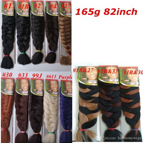 different colours of xpression attachment wholesale xpression synthetic braiding hair 82inch