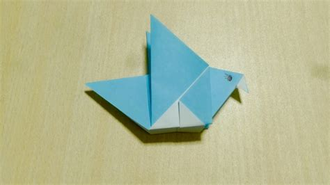 Origami Craft Projects - diy craft bird origami the of folding paper my