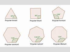 Kan vi lage mønstre av like regulære mangekanter og fylle ... I 360 Form
