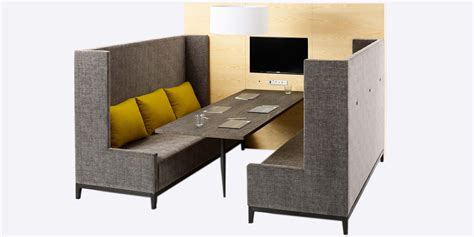 booth sofa seating wiggle meeting booth sofa ergo form