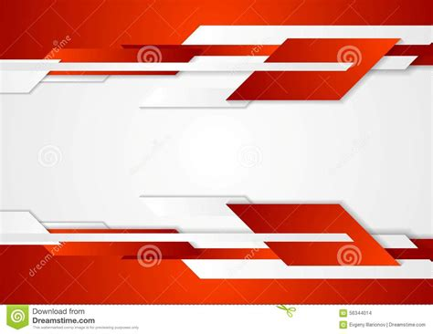 corporate background pattern vector red tech geometric design stock vector image 56344014