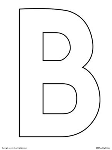 letter b template 25 best ideas about letter b on letter b