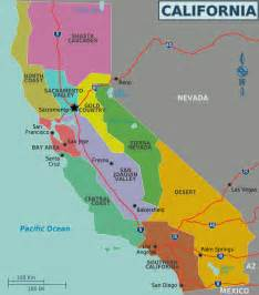 california american map map of california regions worldofmaps net