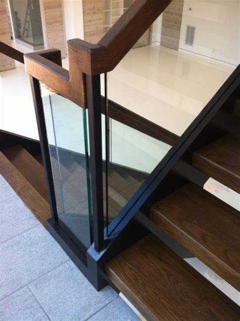 glass stair railings artistic stairs canada