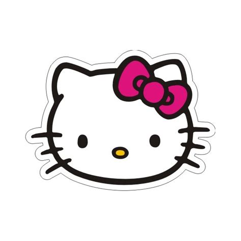 hello kitty bow coloring pages hello kitty face pink bow