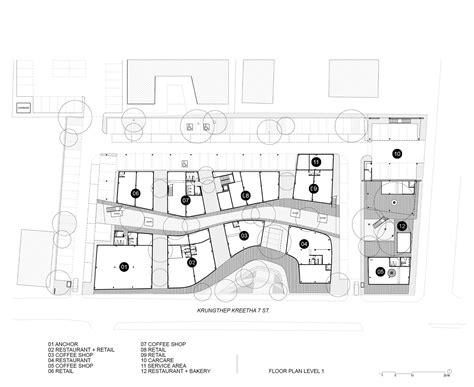Residential Floor Plans Kurve 7 Stu D O Architects Archdaily