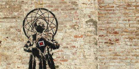 banksy create  martin luther king jr mural
