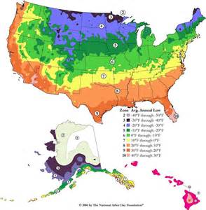 Us Zones For Gardening - us hardiness zones
