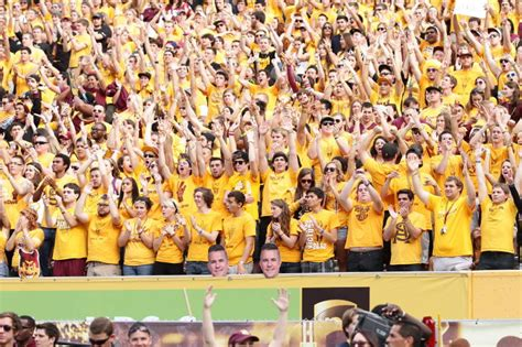 asu student section meade arizona state is bungling their big moment and it