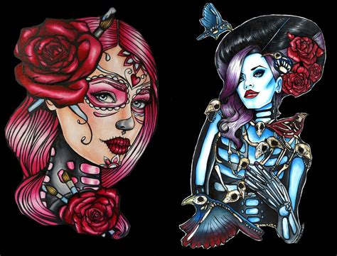 new school pin up tattoo designs pop culture and fashion magic august 2014