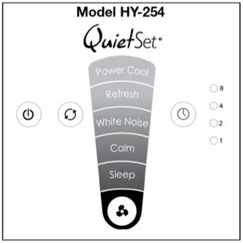 honeywell hy 254 quietset whole room tower fan the honeywell hy 254 quietset whole room tower fan white