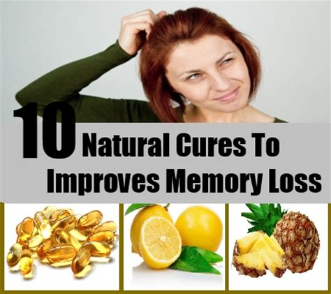 10 cures for improving memory loss how to