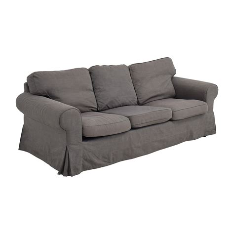 second hand ikea sofa 53 off ikea ikea ektorp grey skirted sofa sofas