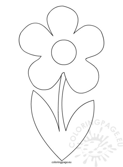 printable stem and leaves free coloring pages of stem and leaves