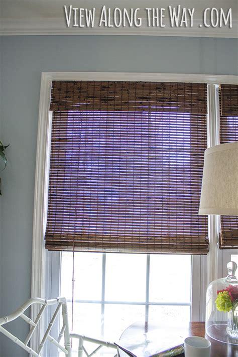 Custom Bamboo Blinds Installing Custom Bamboo Shades Window Treatments