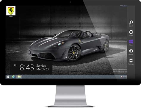 Car Wallpaper Themes Windows 7 by Car Theme For Windows 7 And Windows 8