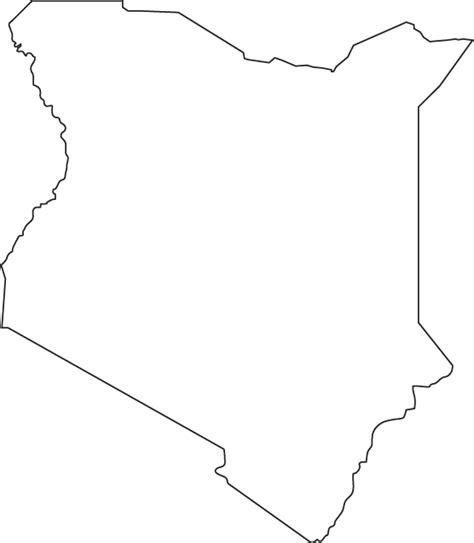 printable map kenya kenya outline map