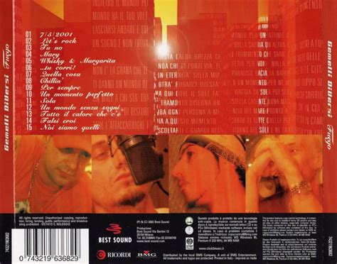 gemelli diversi fuego scarica la copertina cd gemelli diversi fuego back