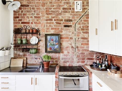 brick kitchen walls brick wall kitchen coco lapine designcoco lapine design