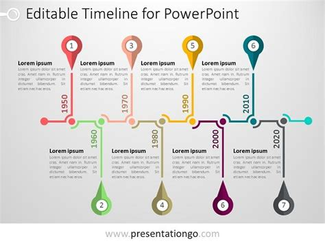 graphic timeline template powerpoint timeline template presentationgo